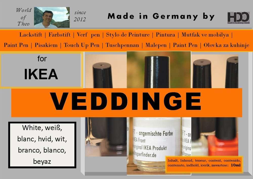 Ikea Veddinge White
