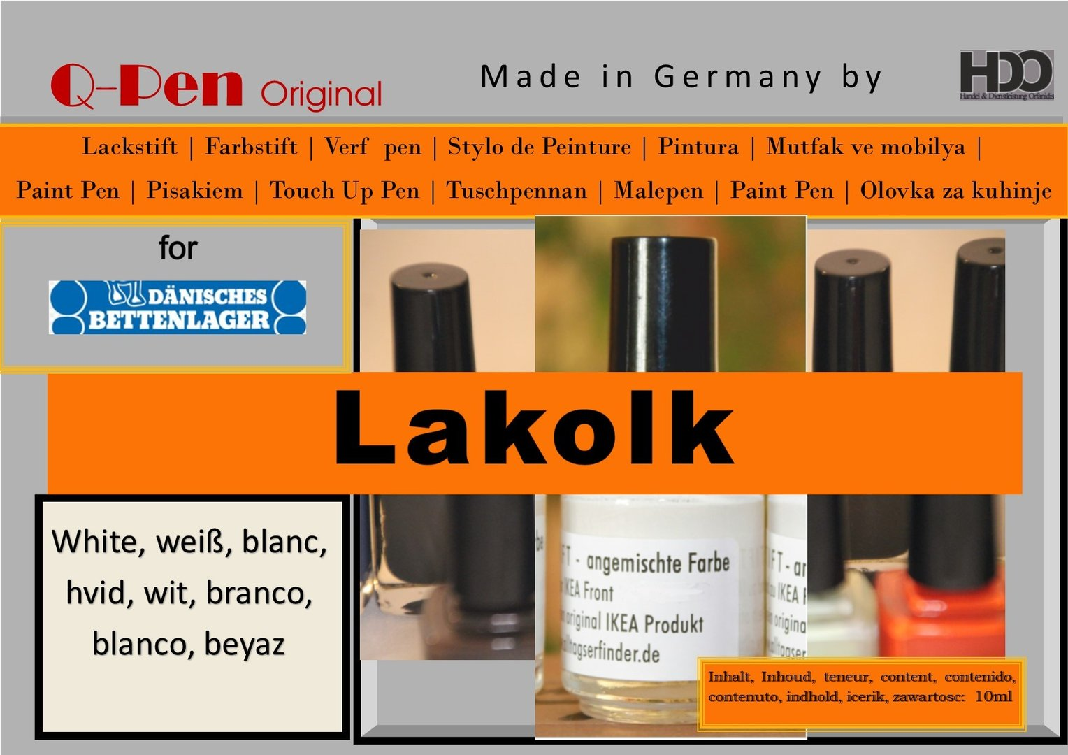 for JYSKE LAKOLK white